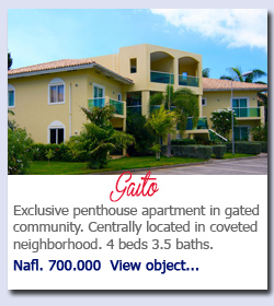 Exclusive penthouse apartment in gated community. Centrally located in coveted neighborhood. 4 beds 3.5 baths. Nafl. 700.000  View object...