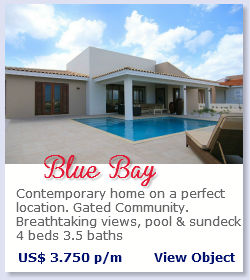 Blue Bay - Contemporary home for rent