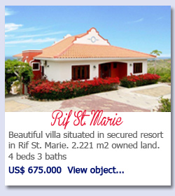 Rif St. Marie - Beautiful villa situated in secured resort in Rif St. Marie. 2.221 m2 owned land. 4 beds 3 baths US$ 675.000  View object...