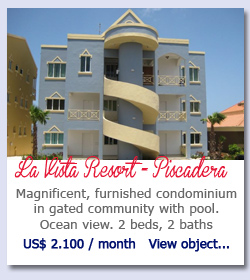 La Vista Curacao - Magnificent, furnished condominium in gated community with pool. Ocean view. 2 beds, 2 baths