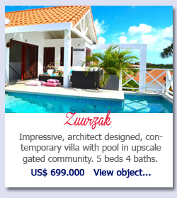 Zuurzak Curacao - Impressive, architect designed, contemporary villa with pool in upscale gated community. 5 beds 4 baths. US$ 699.000   View object...