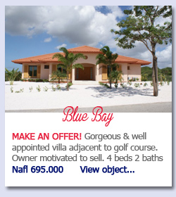 Blue Bay- MAKE AN OFFER! Gorgeous & well appointed villa adjacent to golf course. Owner motivated to sell. 4 beds 2 baths Nafl 695.000      View object...