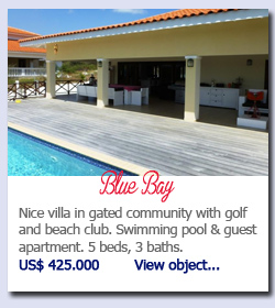 Blue Bay - Nice villa in gated community with golf and beach club. Swimming pool & guest apartment. 5 beds, 3 baths.