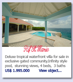 Rif St. Marie - Deluxe tropical waterfront villa for sale in exclusive gated community.Infinity style pool,  stunning views, 4 beds,  3 bathsUS$ 1.995.000        View object...