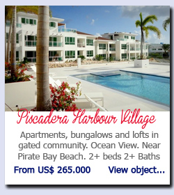 Piscadera Harbour Village - Luxurious condominiums with ocean view. Upscale gated community with communal pool. 2 beds 2.5 baths. US$ 295.000        View object...