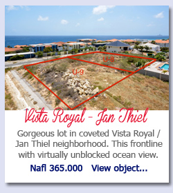 Vista Royal Jan Thiel - Gorgeous lot in coveted Vista Royal / Jan Thiel neighborhood. This frontline with virtually unblocked ocean view. Nafl 365.000   View object...