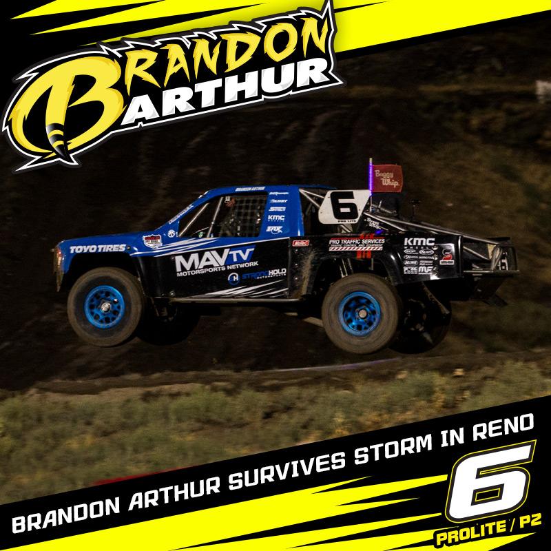 Brandon Arthur Survives Storm At Reno For Top 5 Finish