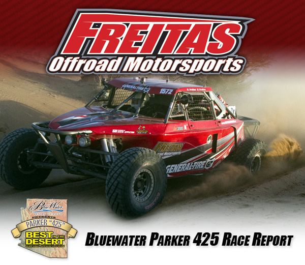 2012 BITD Parker 425, Garrick Freitas, Freitas Offroad Motorsports, Class 1500