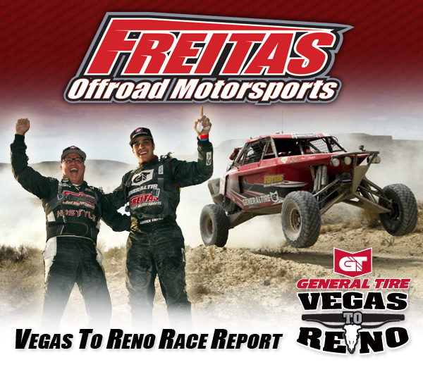 Freitas Off Road Motorsports, Garrick Freitas, Jimco Race Cars, Bink Designs, Vegas To Reno, Overall Winner