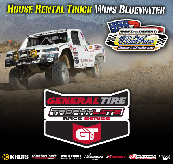 2013 General Tire Trophy Lite Race Series, Logan Holladay, BITD Bluewater Desert Challenge, KC Hilites, Mastercraft Safety, Method Race Wheels, Azunia Tequila, Impact, Fox
