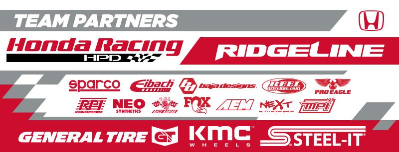 Honda Off Road Sponsors, Honda Racing, Honda Ridgeline