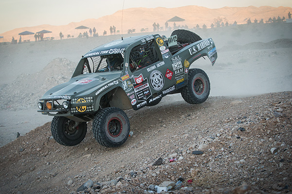 Brandon Arciero, Trophylite, The Mint 400, Impact