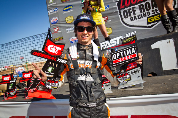 Geoffrey Cooley Wins First Career Pro Buggy Race