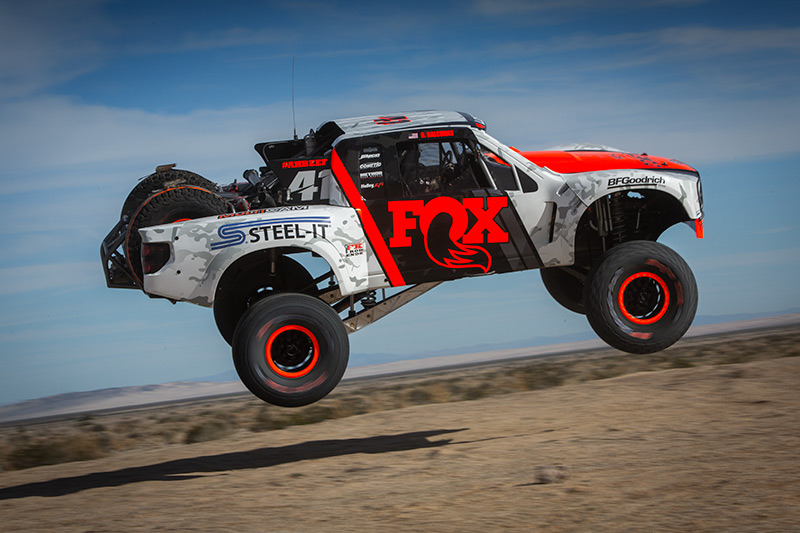 Justin Lofton, FOX, STEEL-IT, Method Race Wheels, BFGoodrich Tires, Parker 425