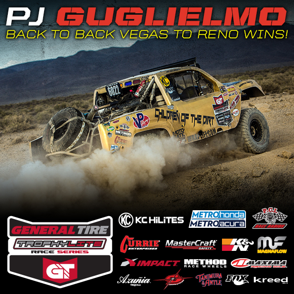 PJ Guglielmo Wins Back To Back Vegas To Reno Races