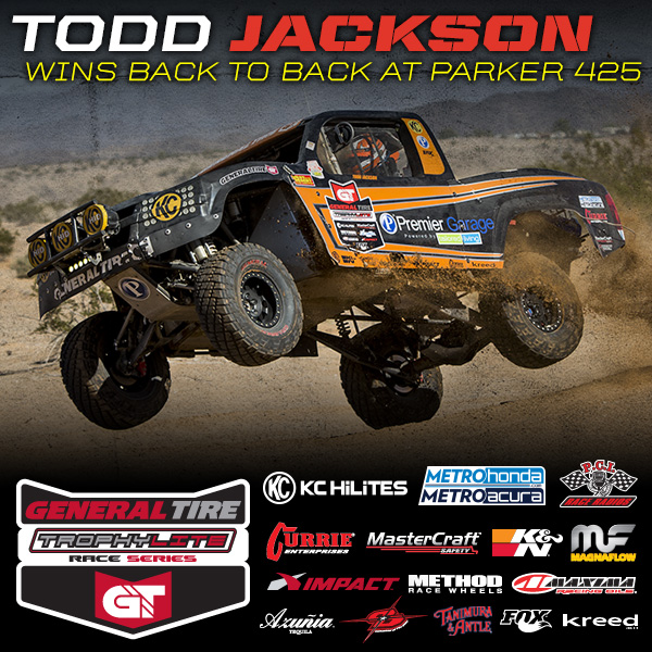 Todd Jackson Wins Back to Back at Parker 425
