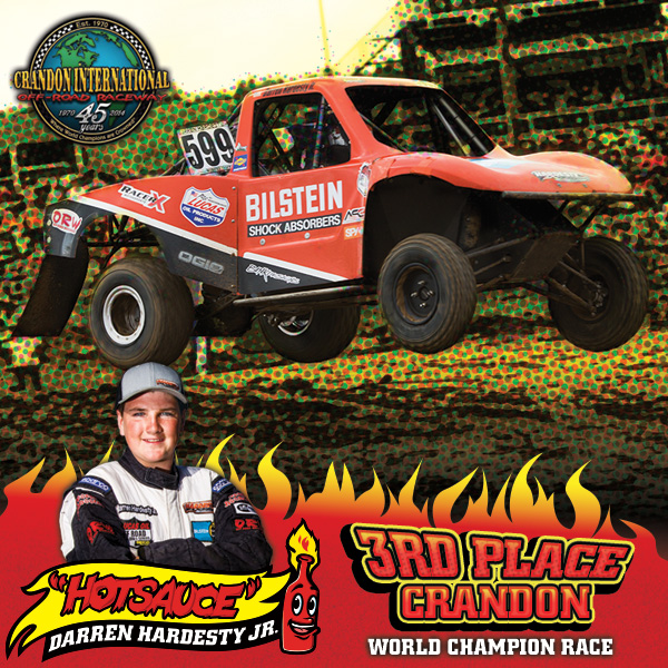 "Darren ""Hot Sauce"" Hardesty Jr. Takes 3rd at Crandon World Championships"