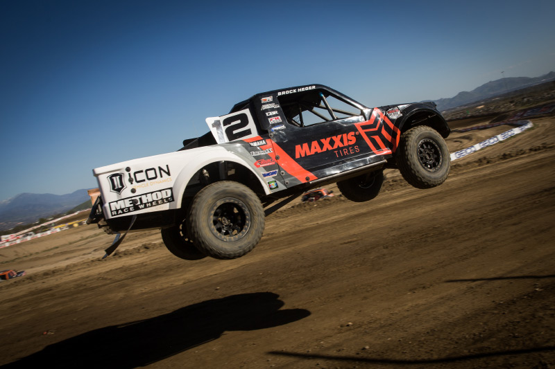 Brock Heger, Maxxis Tire, Method Race Wheels, Icon Suspension, MPI Innovations, Bink Designs