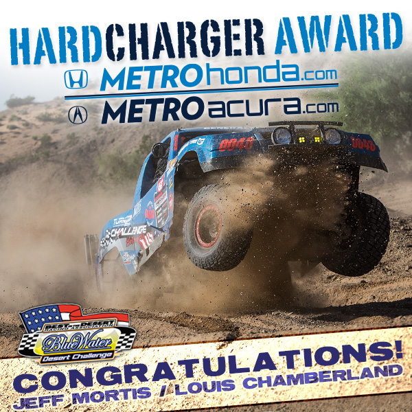 Jeff Mortis and Louis Chamberland Win Hard Charger Award