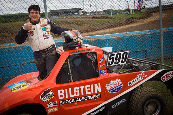 Darren Hardesty Jr, 3rd Place Crandon World Championships