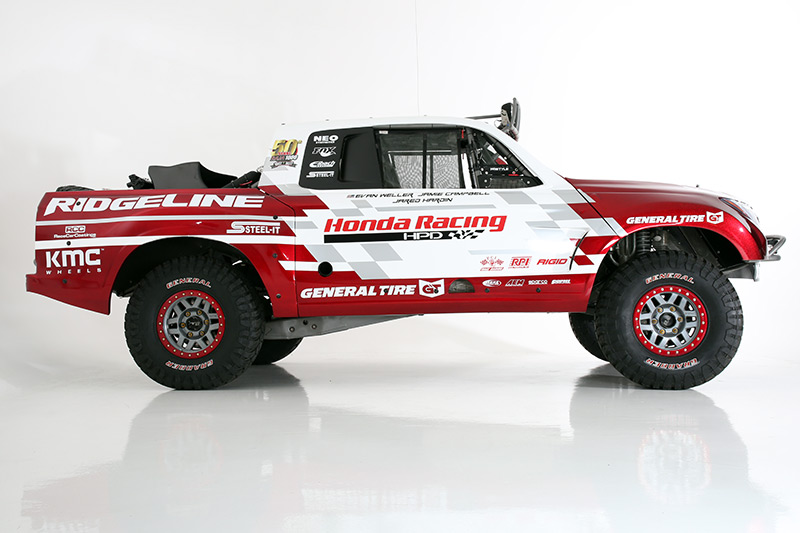 Honda Ridgeline, Baja 1000, SEMA Show, General Tire, Rigid Industries, KMC Wheels, STEEL-IT, Jeff Proctor, 50th Baja 1000, FOX