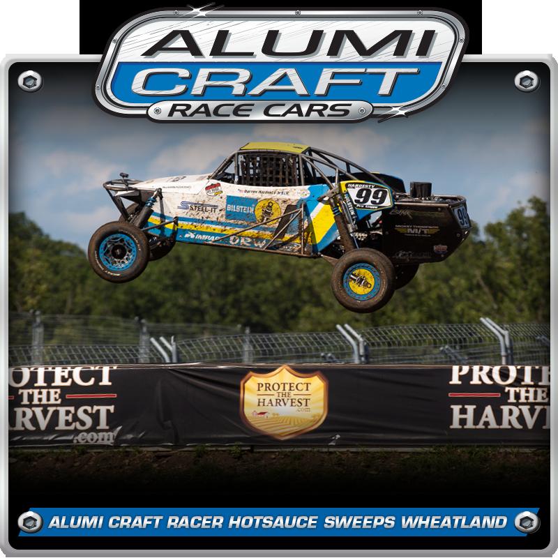 Alumi Craft Racer Darren Hardesty Jr. Sweeps Wheatland