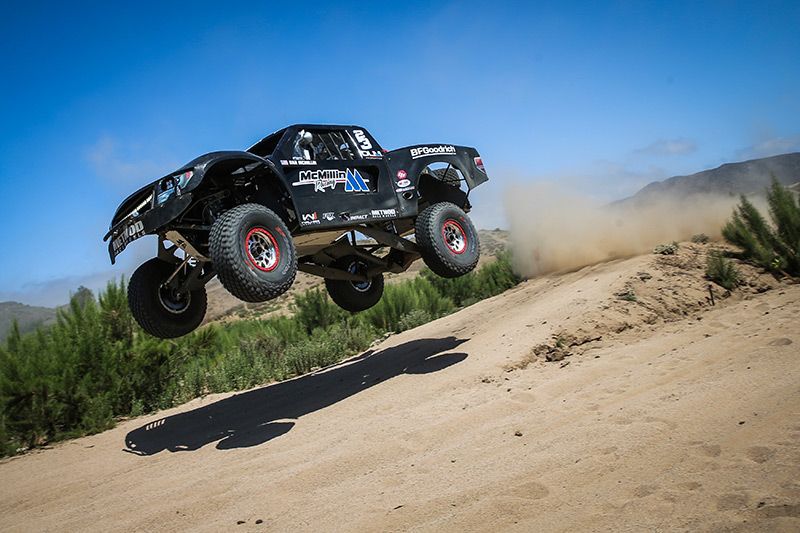 Dan McMillin, FOX, SCORE Baja 500, Walker Industries, Impact, Bink Designs, Trophy Truck