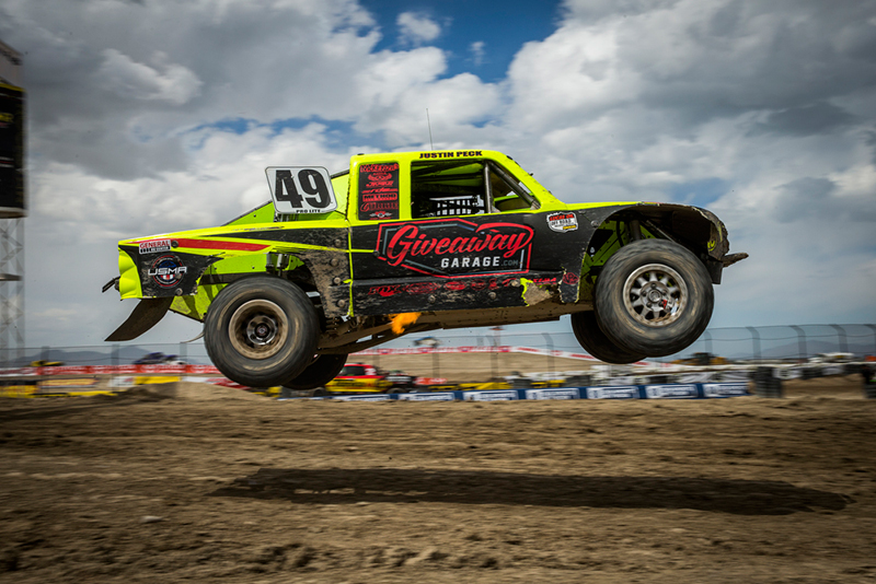 Justin Peck, Giveaway Garage, Method Race Wheels, USMA, Bink Designs, Lucas Oil Off Road