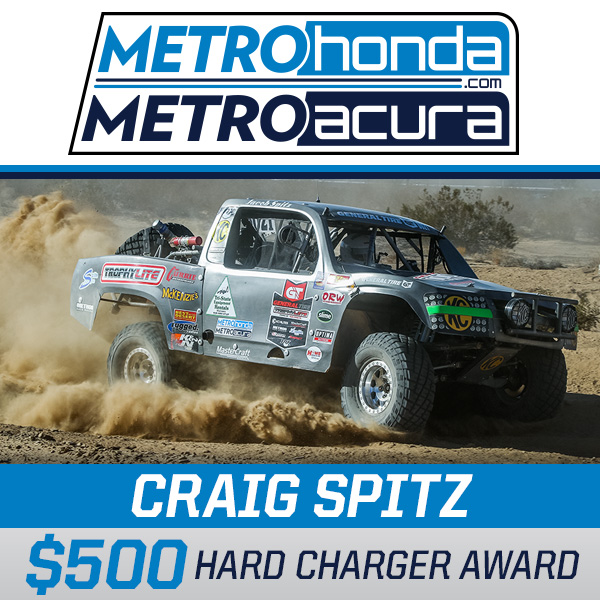 Metro Honda, Metro Acura, Hard Charger Award, Trophylite