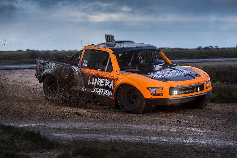 Justin Albins, Alumi Craft Trophy Truck, Australian Off Road Championship. Off Road Racing