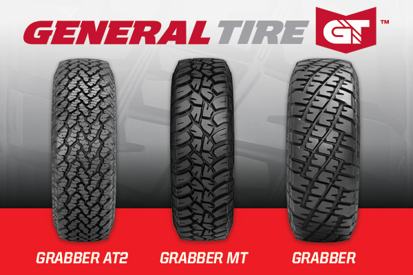 General Tire Grabbers, Off Road Tire, Tires. Trophylite