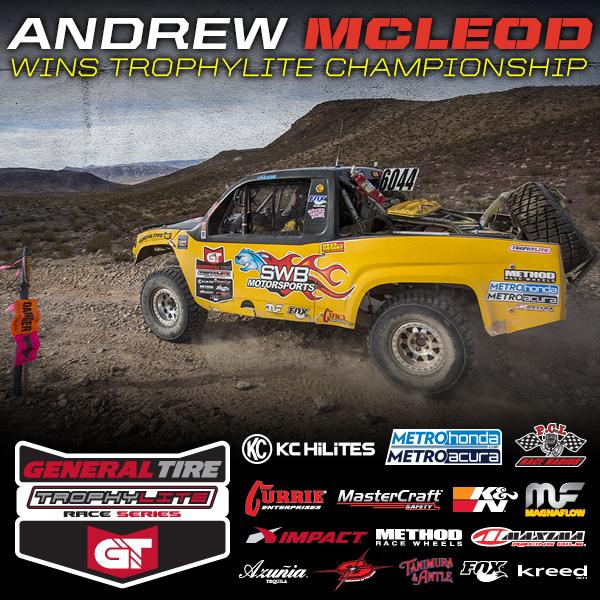 Andrew McLeod Wins 2015 Trophylite Race Series Championship