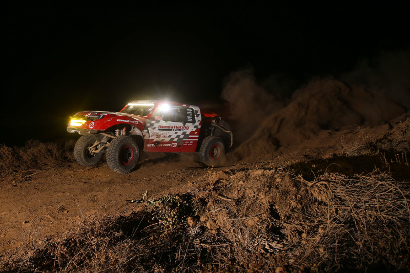 Honda Ridgeline, Jeff Proctor, TSCO Racing, General Tire, KMC Wheels, Honda Off Road, Bink Designs, Baja Designs