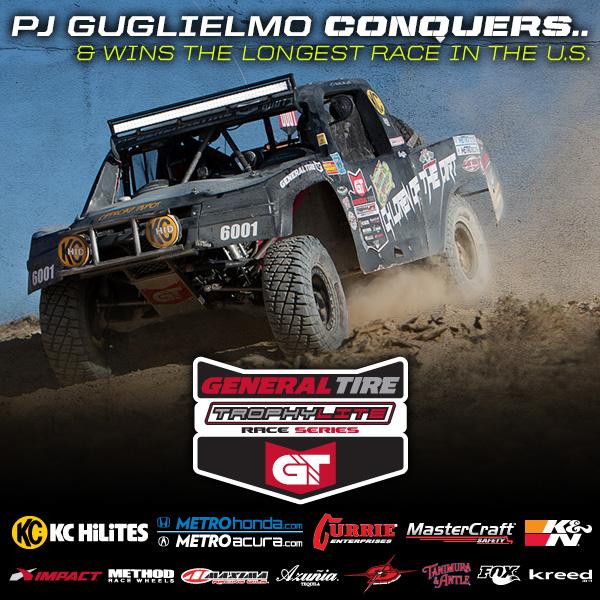 Trophylite Racer PJ Guglielmo Wins Vegas To Reno