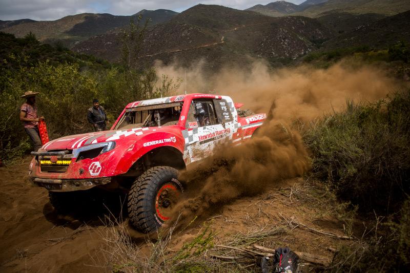 Honda Off Road, Honda Ridgeline, Jeff Proctor, TSCO Racing, General Tire, KMC Wheels, Baja Designs, Bink Designs