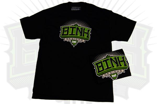 Bink Designs T-Shirt, Apparel Design