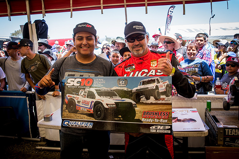 Carl Renezeder, Baja Fan, Team Associated SC10, Lucas Oil, BFGoodrich Tires, Giveaway, Bink Designs