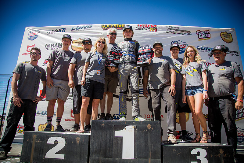 Polvoorde Racing, Christopher Polvoorde, Utah Motorsports Campus, Lucas Oil Off Road, Podium, The Palms River Resort, Bink Designs