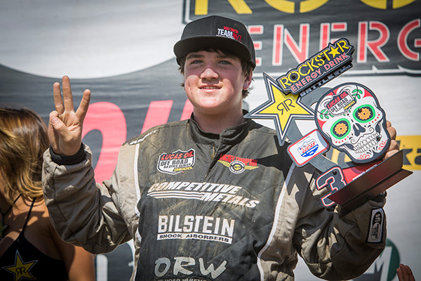 HotSauce Stands on Podium in Round 12 of Lucas Oil Off Road