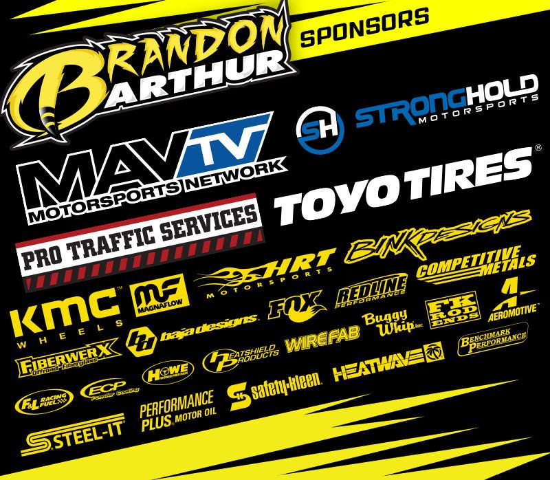Brandon Arthur Sponsors