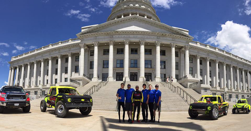Justin Peck, Utah State Capital, Utah, RacePro Tech, Giveaway Garage