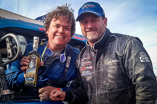 Jeff Mortis, Trophylite, Henderson 250, Azunia Tequila