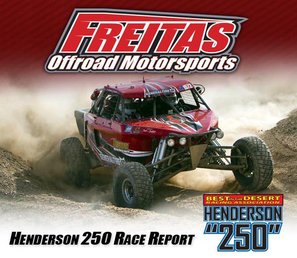 Freitas Off Road Motorsports, Garrick Freitas, Jimco Race Cars, Bink Designs, BITD, Henderson 250