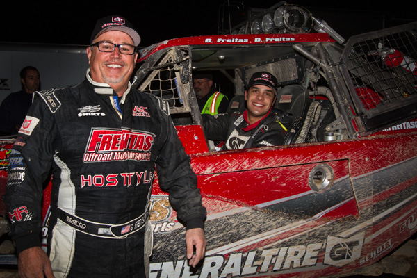 Freitas Off Road, General Tire, Bink Designs, Garrick Freitas