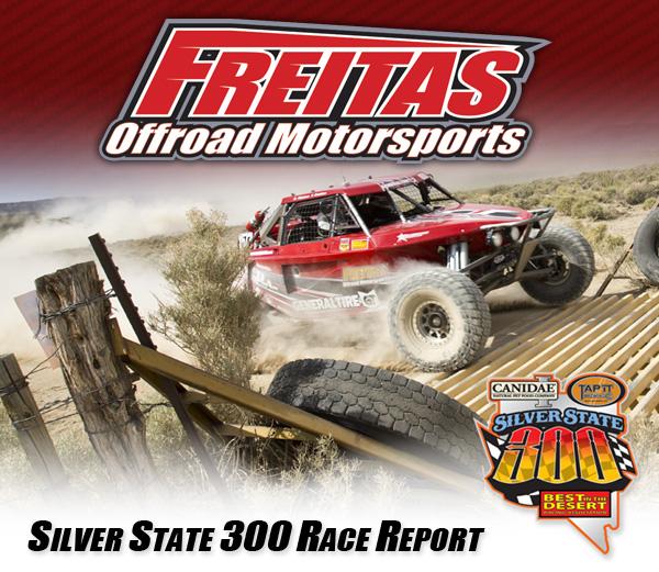 Freitas Off Road Motorsports, Garrick Freitas, Jimco Race Cars, Bink Designs, BITD, Silver State 300