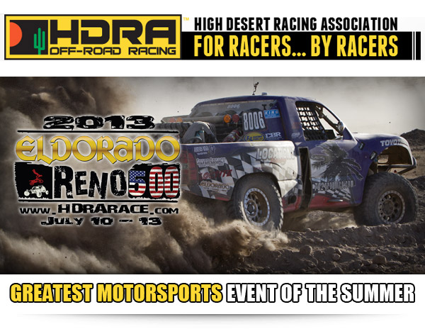 HDRA Eldorado Reno 500, Reno Nevada, Monster Energy