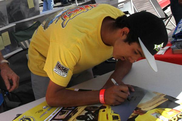 Brandon Arthur, Bink Designs, Contingency, HRT Motorsports