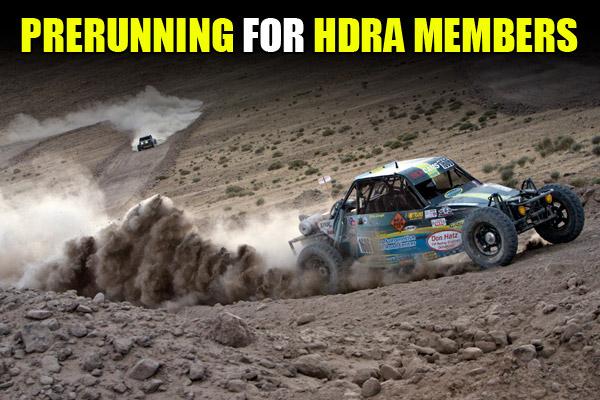HDRA Prerunning, Reno 500 Prerunning