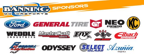 Banning Motorsports Sponsors