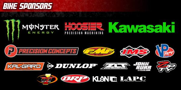 THR Motorsports Bike Sponsors